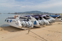 Power Boats at Phuket Port