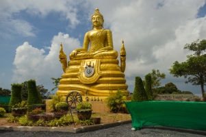Golden Buddha on the Hill