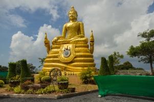 Golden Buddha on the Hill