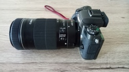 Eos M5/Efs adaptor/Efs 55-250mm