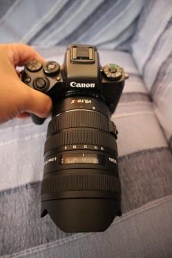 Sigma 8-16mm on Eos M5