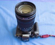 Eos M5/Viltrox adaptor/18-135mm STM