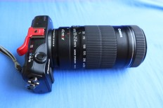 Eos M/Efs adaptor/Efs 55-250mm
