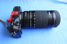Eos M/Efs adaptor/Efs 55-250mm